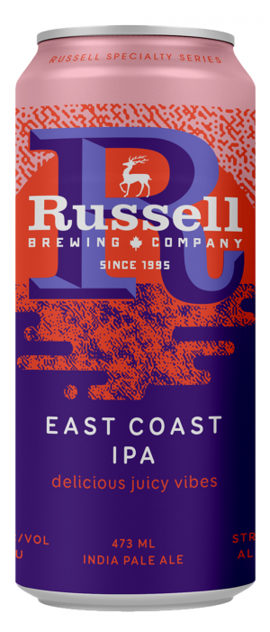 East Coast IPA by Russell Brewing Company in British Columbia, Canada