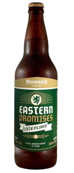 Eastern Promises by Russell Brewing Company in British Columbia, Canada