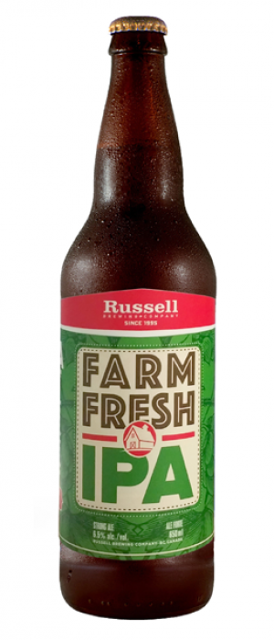 Farm Fresh by Russell Brewing Company in British Columbia, Canada