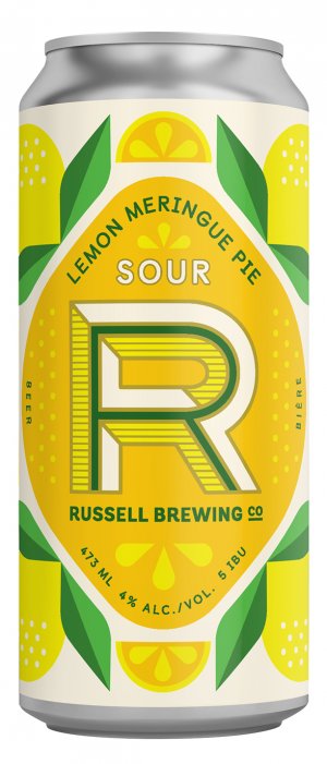 Lemon Meringue Pie Sour by Russell Brewing Company in British Columbia, Canada