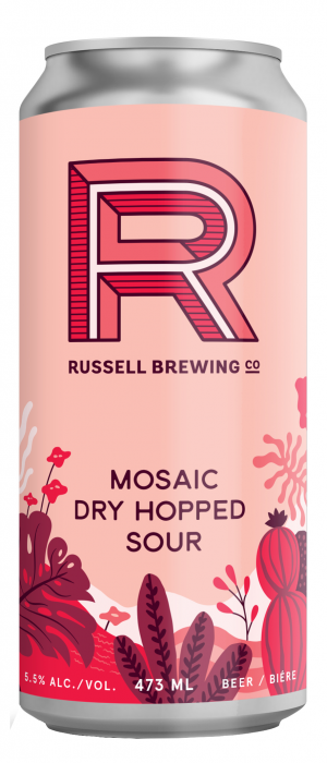Mosaic Dry Hopped Sour by Russell Brewing Company in British Columbia, Canada