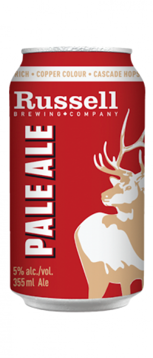 Pale Ale by Russell Brewing Company in British Columbia, Canada