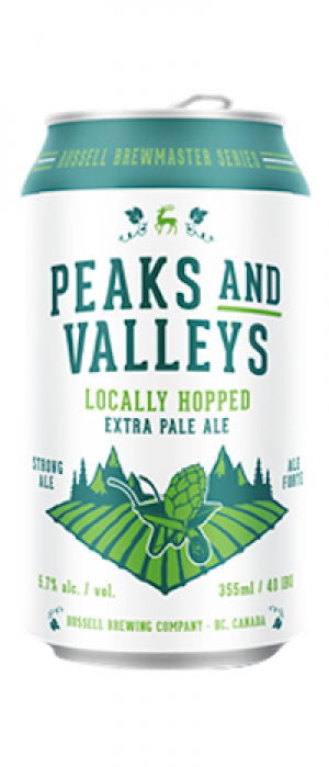 Peaks and Valleys by Russell Brewing Company in British Columbia, Canada