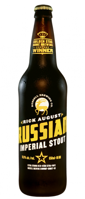Rick August by Russell Brewing Company in British Columbia, Canada