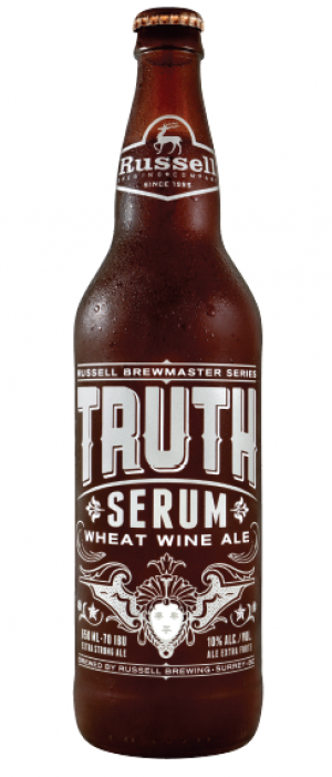 Truth Serum by Russell Brewing Company in British Columbia, Canada