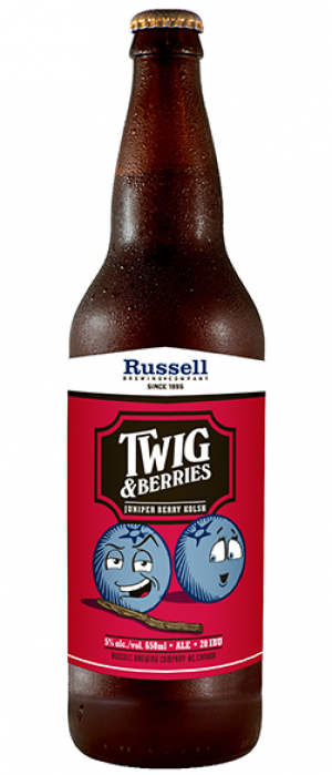 Twig & Berries by Russell Brewing Company in British Columbia, Canada