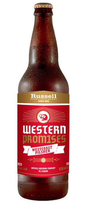 Western Promises by Russell Brewing Company in British Columbia, Canada
