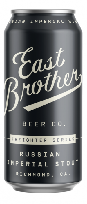 Russian Imperial Stout by East Brother Beer Company in California, United States