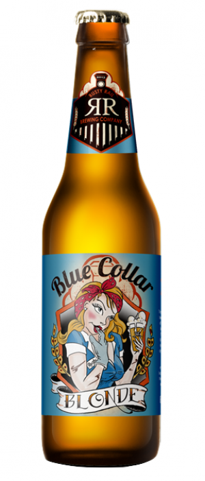 Blue Collar Blonde Ale by Rusty Rail Brewing Company in Pennsylvania, United States