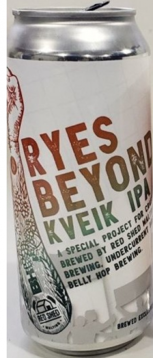 Ryes Beyond Kveik IPA by Undercurrent Brewing in Alberta, Canada