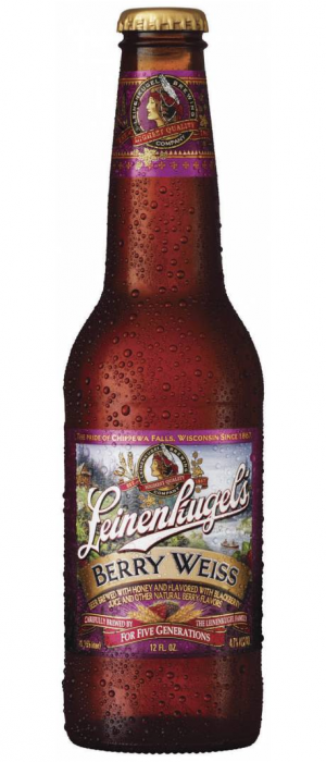 Leinenkugel's Berry Weiss by SAB Miller in Ontario, Canada