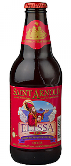 Elissa IPA by Saint Arnold Brewing Company in Texas, United States