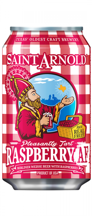 Raspberry AF by Saint Arnold Brewing Company in Texas, United States