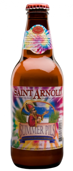 Summer Pils by Saint Arnold Brewing Company in Texas, United States