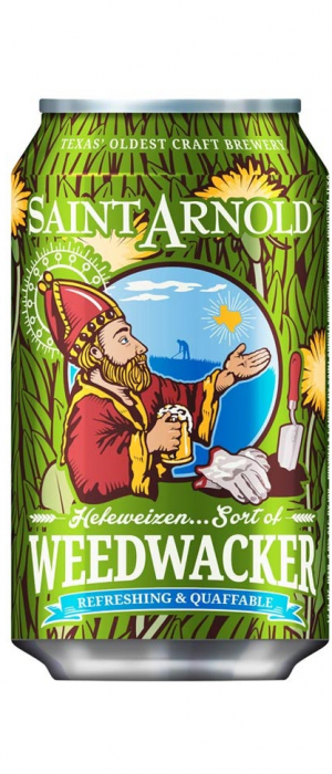 Weedwacker by Saint Arnold Brewing Company in Texas, United States