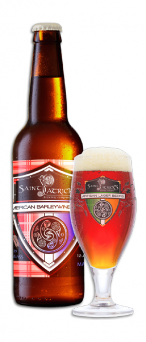American Barleywine Lager by Saint Patrick's Brewing Company in Colorado, United States