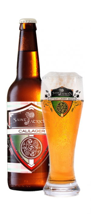 CaliLager by Saint Patrick's Brewing Company in Colorado, United States