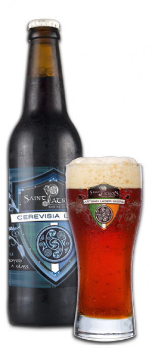 Cerevisia Amber Lager by Saint Patrick's Brewing Company in Colorado, United States