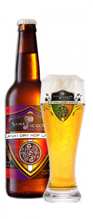 Lana'i Dry Hop Lager by Saint Patrick's Brewing Company in Colorado, United States