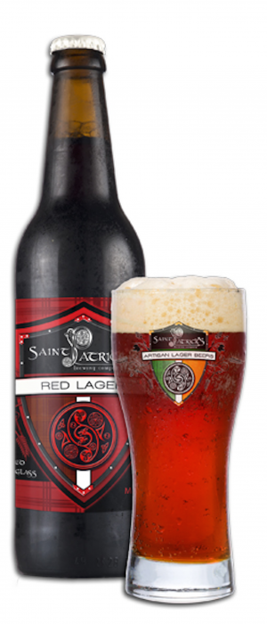 Red Lager by Saint Patrick's Brewing Company in Colorado, United States
