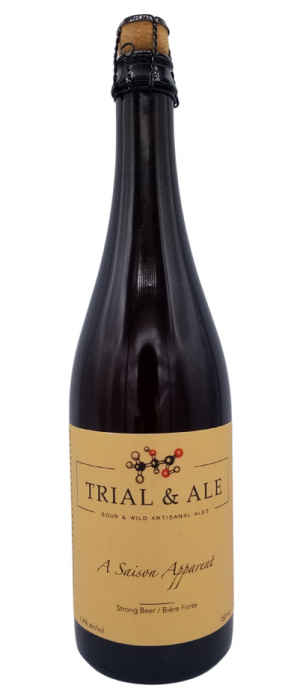 A Saison Apparent by Trial & Ale in Alberta, Canada