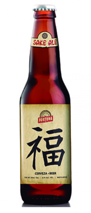 Sake Ale by Ceveza Fortuna in Jalisco, Mexico