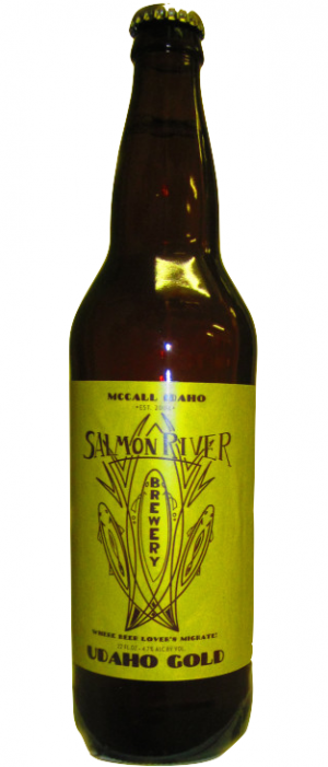 Udaho Gold by Salmon River Brewing Company in Idaho, United States