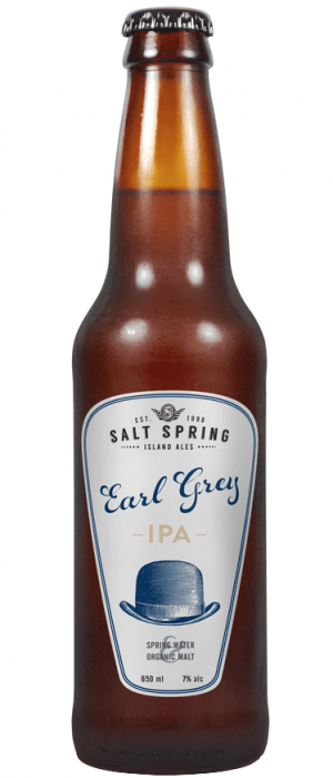 Earl Grey India Pale Ale by Salt Spring Island Ales in British Columbia, Canada