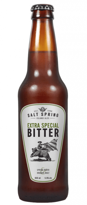 Extra Special Bitter by Salt Spring Island Ales in British Columbia, Canada