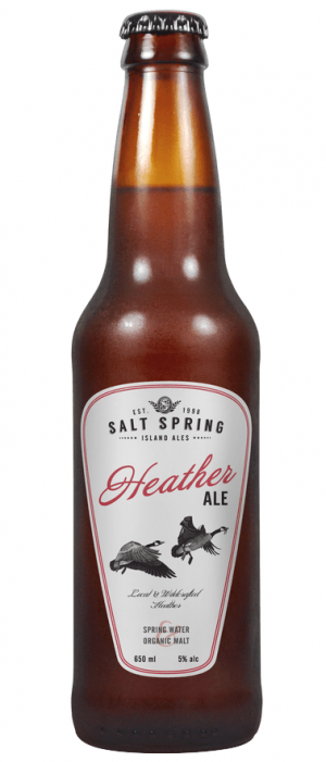 Heather Ale by Salt Spring Island Ales in British Columbia, Canada