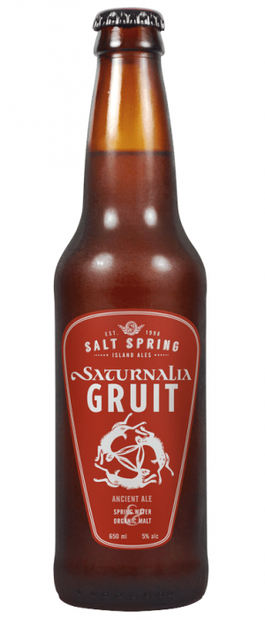 Saturnalia Gruit by Salt Spring Island Ales in British Columbia, Canada