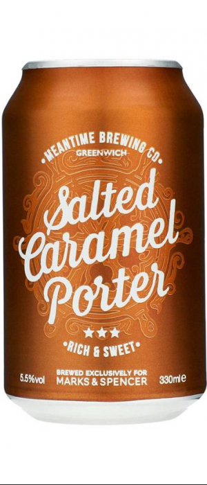 Salted Caramel Porter by Meantime Brewing Company in London - England, United Kingdom
