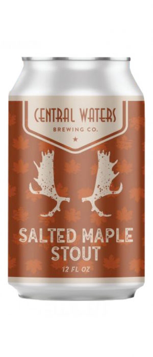 Salted Maple Stout by Central Waters Brewing Company in Wisconsin, United States