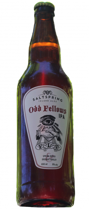 Odd Fellows IPA by Salt Spring Island Ales in British Columbia, Canada