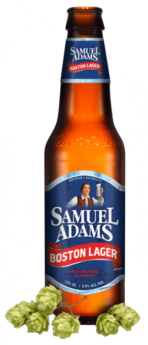 Samuel Adams Boston Lager by Samuel Adams in Massachusetts, United States