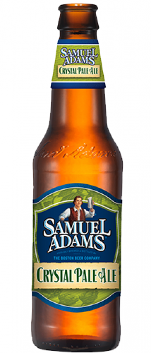Samuel Adams Crystal Pale Ale by Samuel Adams in Massachusetts, United States