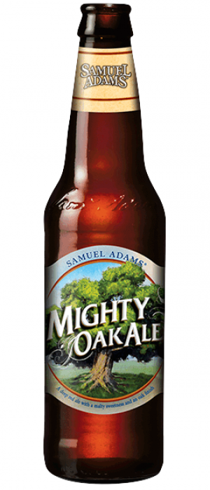 Samuel Adams Mighty Oak Ale by Samuel Adams in Massachusetts, United States