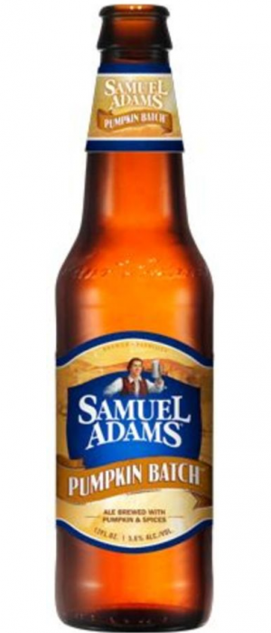 Samuel Adams Pumpkin Batch by Samuel Adams in Massachusetts, United States