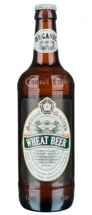Organic Wheat Beer by Samuel Smith's Brewery in North Yorkshire - England, United Kingdom