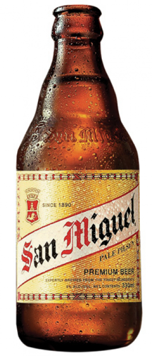 San Miguel Pale Pilsen by San Miguel Brewery in Manila, Philippines