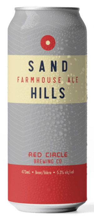 Sand Hills Farmhouse Ale by Red Circle Brewing & Coffee in Ontario, Canada