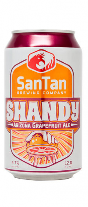 Grapefruit Shandy by SanTan Brewing Company in Arizona, United States
