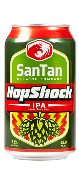 HopShock IPA by SanTan Brewing Company in Arizona, United States