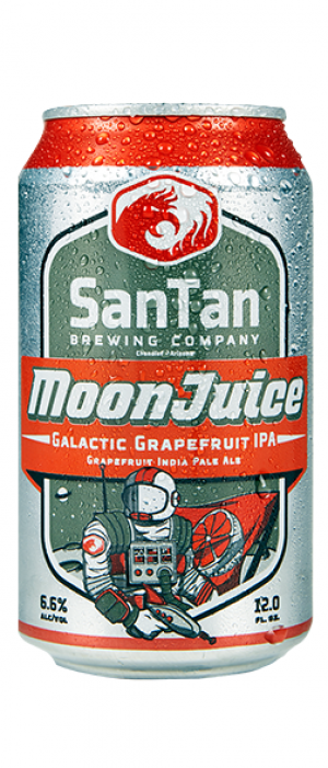 MoonJuice Grapefruit IPA by SanTan Brewing Company in Arizona, United States