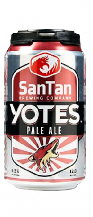 Yotes Pale Ale by SanTan Brewing Company in Arizona, United States