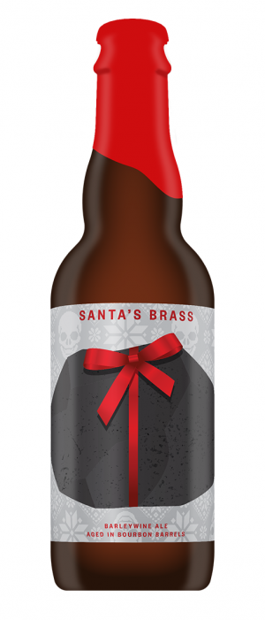 Santa's Brass by Drake's Brewing Company in California, United States