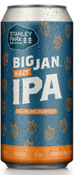 Sapling Series: Big Jan Hazy IPA by Stanley Park Brewing in British Columbia, Canada