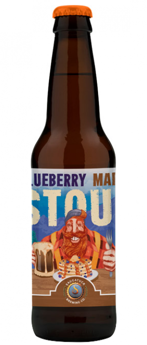 Blueberry Maple Stout by Saugatuck Brewing Company in Michigan, United States
