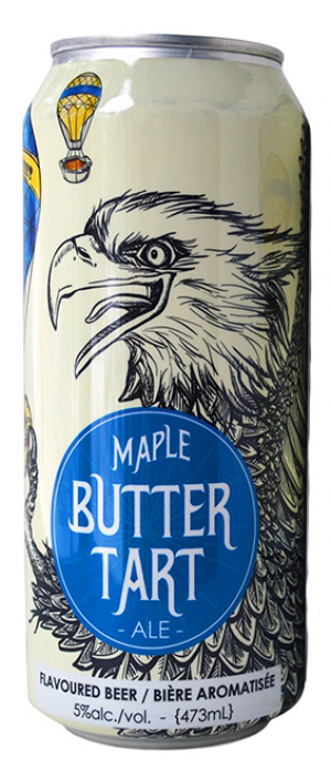 Maple Butter Tart Ale by Sawdust City Brewing Company in Ontario, Canada