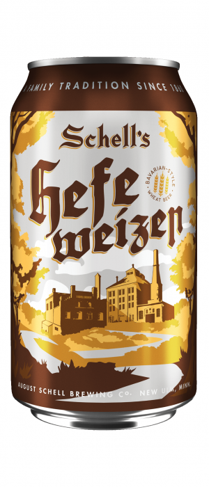 Schell's Hefeweizen by August Schell Brewing Company in Minnesota, United States